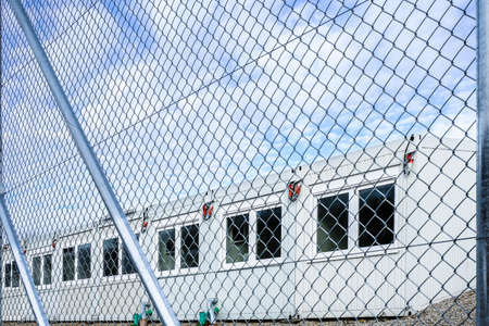 habitable: new gray mobile home container