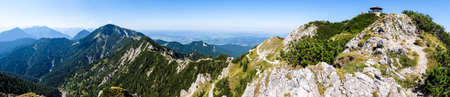 over the edge: walchensee in bavaria - germany - photo