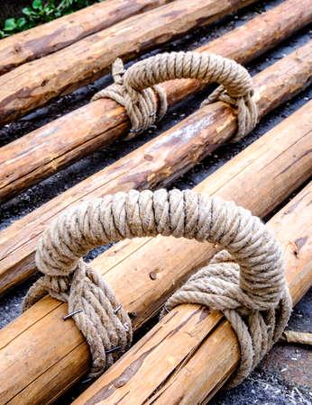 maypole: typical bavarian maypole - closeup - photo Stock Photo