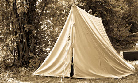 beautiful old tent at a park photo & Old Tents At A Festival Stock Photo Picture And Royalty Free ...