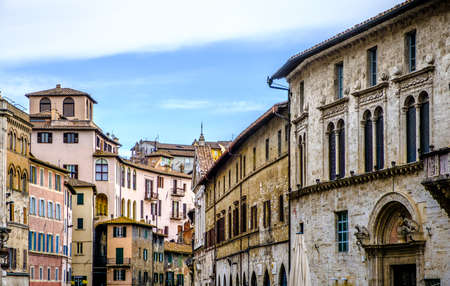 old town of perugia - italy