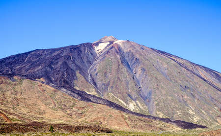 pico del teide - spains highest mountain in tenerife - canaries Stock Photo