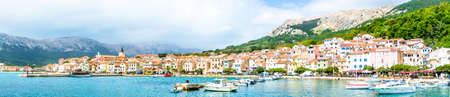 old town of baska - island krk - croatia