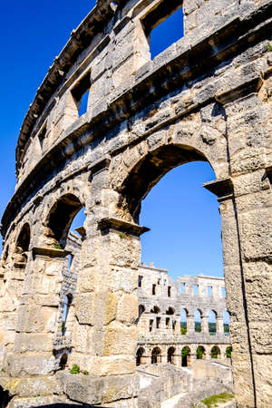 Roman Amphitheater Pula,Istria, Croatia