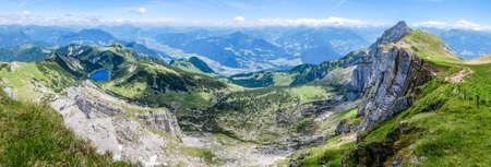 rofan mountains in austria - european alps