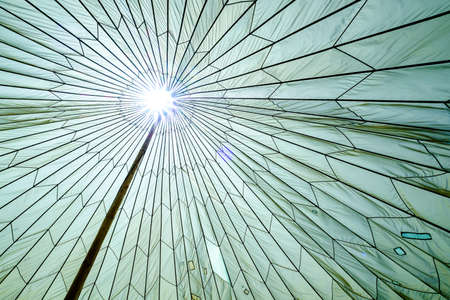 high section: entertainment tent - close up - photo
