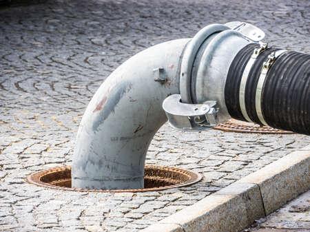 buizen bij een stoep - foto - close-up Stockfoto