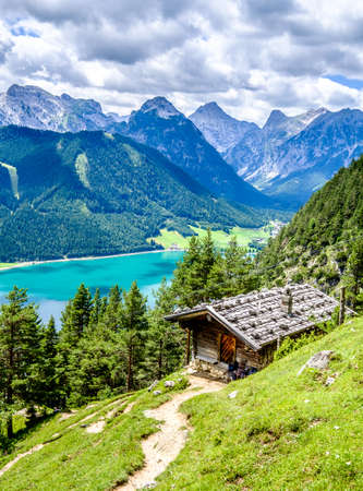achensee lake in austria - pertisau Stock fotó