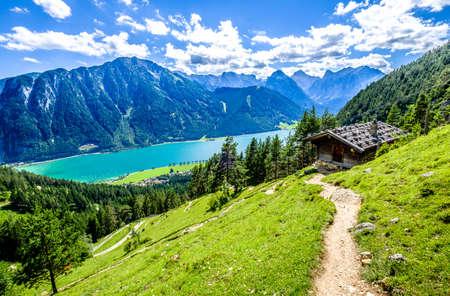 achensee lake in austria - pertisau Foto de archivo