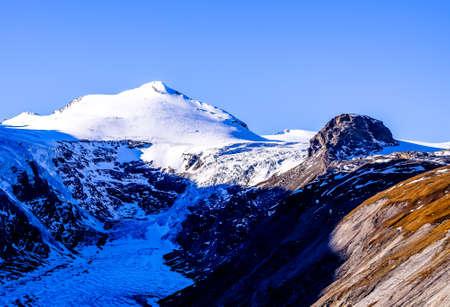 grossglockner mountain in austria - hohe tauern