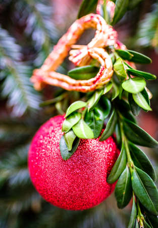 old fashioned christmas decoration - photo