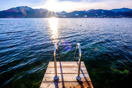 tegernsee lake in bavaria - germany - photo