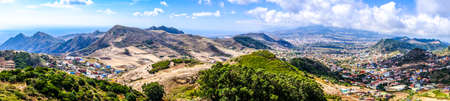 tenerife landscape in the east of the island Stock Photo