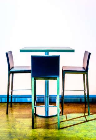 modern, empty cafeteria - photo Standard-Bild - 95725611