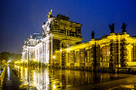 famous church in dresden - photo