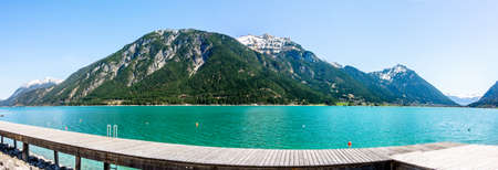 austria - achensee lake - village pertisau