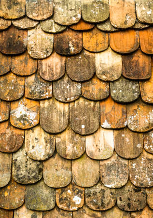 roof tiles - nice background pattern Stock Photo