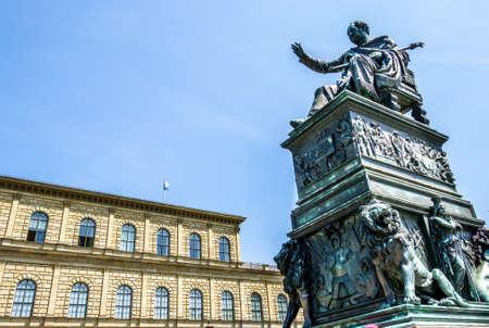 historic residenztheatre in munich - germany 版權商用圖片