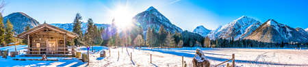 autriche - lac Achensee - village pertisau