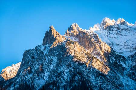 karwendelspitze - westside of the bavarian karwendel mountains Фото со стока - 115819279