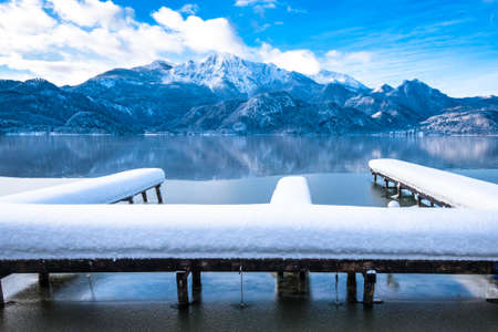 kochel lake - bavaria - germany - european alps Фото со стока - 115819125