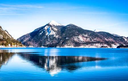 walchensee lake in bavaria - germany - photo Фото со стока - 115819004