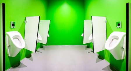 Modern public restroom Imagens
