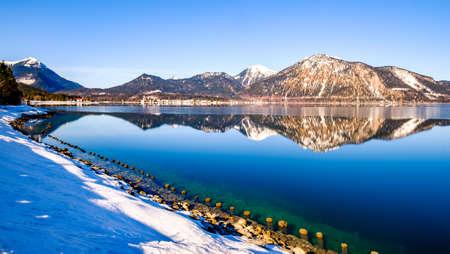 walchensee lake in bavaria - germany - photo