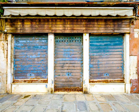 old store front - space for text Banco de Imagens