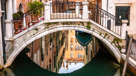 canal in venice - italy - photo
