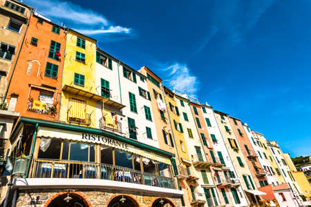 famous old town of portovenere in italy Stockfoto