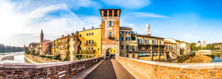famous old town of verona in italy