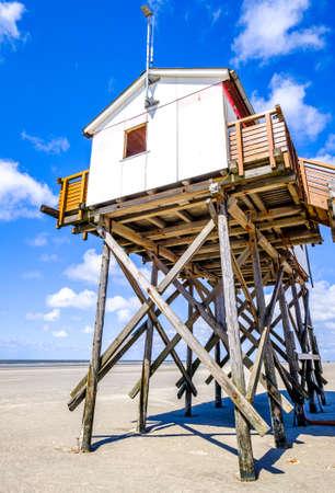 beach at sankt peter ording - northsea
