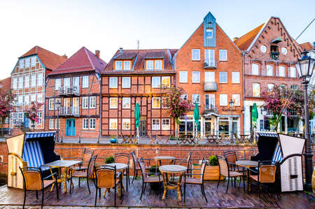 old town of stade in north germany - northsea