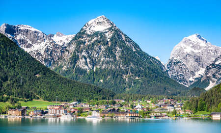 austria - achensee lake - village pertisau