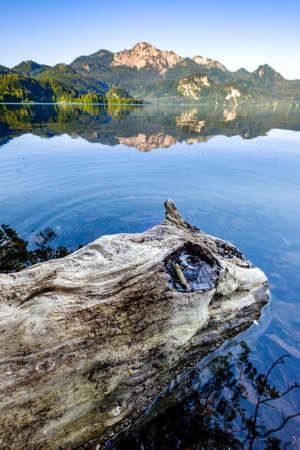 kochel lake at bavaria.