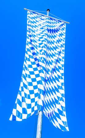 巴伐利亚国旗 - 老 - 照片