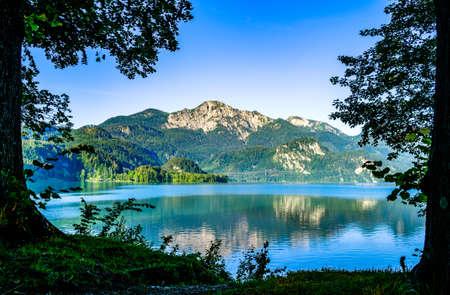 kochel lake - bavaria - germany - european alps Stockfoto