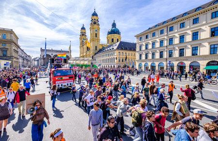 Munich, Germany - September 20: jubilee of the