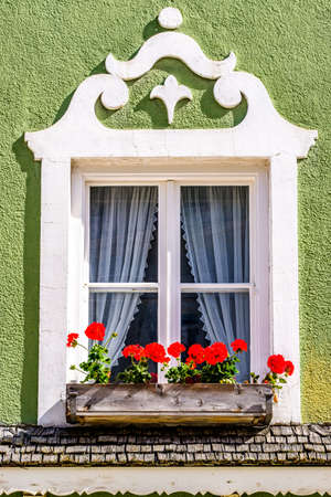 typical old bavarian window - photo