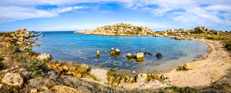 famous island lavezzi near corsica