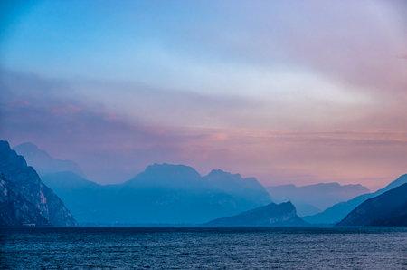 lago di garda in italy - coastline