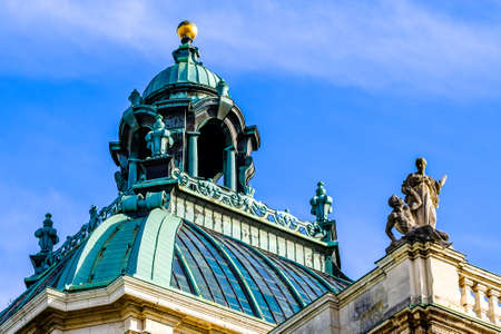 historic munich courthouse - bavaria, germany