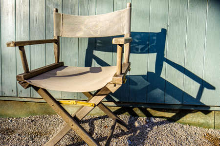 old chair - close up - photo