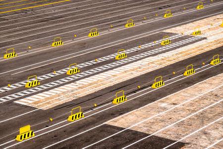 parking lots at a harbor - photo