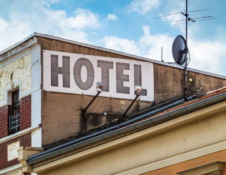 nice old hotel sign - photo