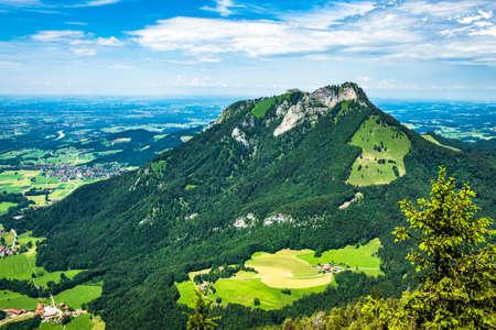 view at the kranzhorn mountain - austria - photo