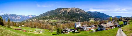 view at the Wamberg mountain - bavaria - Garmisch-Partenkirchen