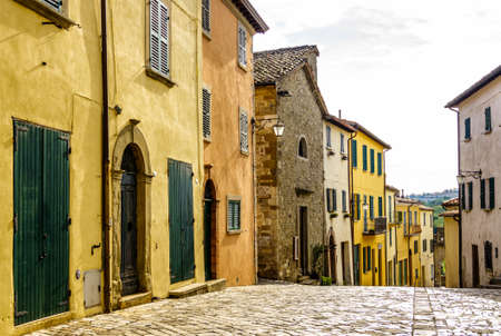 old town of San Leo in Italy - photo