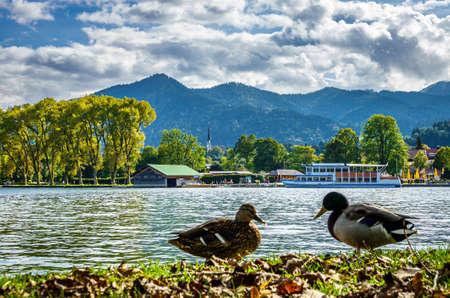 Tegernsee lake in Bavaria